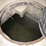 消火水槽給水後